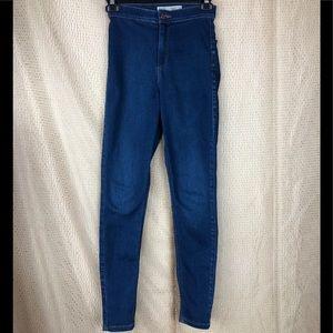 Topshop Joni Ultra High Waisted Skinny Jeans 26